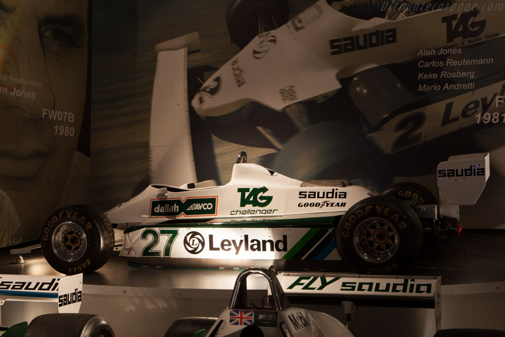 Williams FW07B Cosworth - Chassis: FW07B/09   - Four Decades of Williams in Formula 1