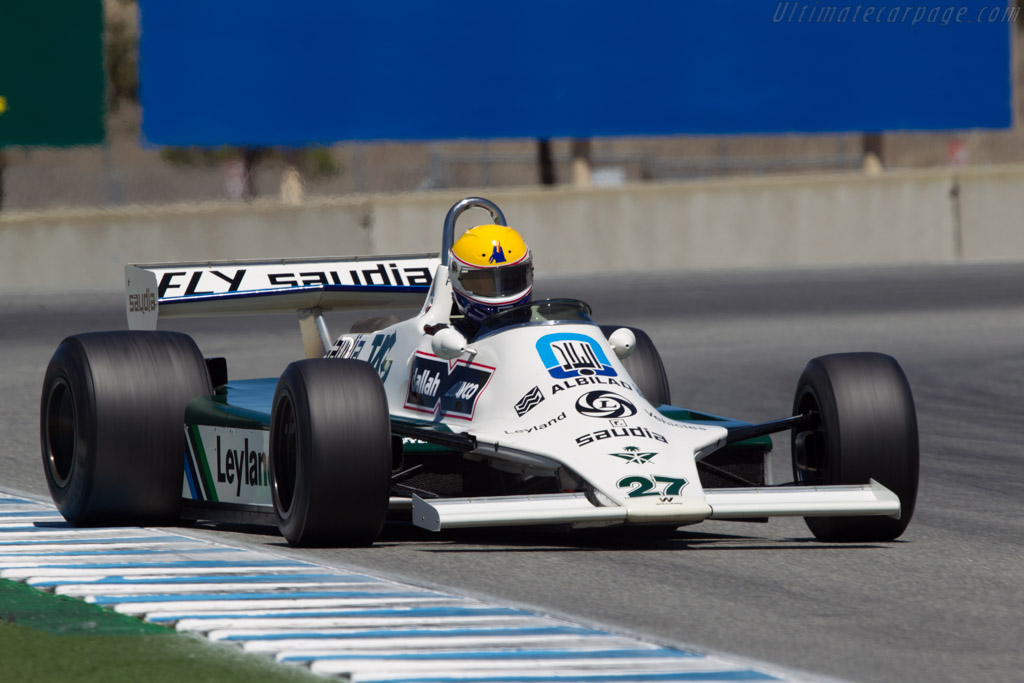 Williams FW07B Cosworth - Chassis: FW07B/06   - 2013 Monterey Motorsports Reunion