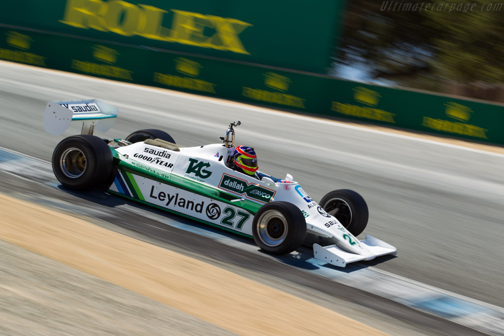 Williams FW07B Cosworth - Chassis: FW07B/07   - 2015 Monterey Motorsports Reunion