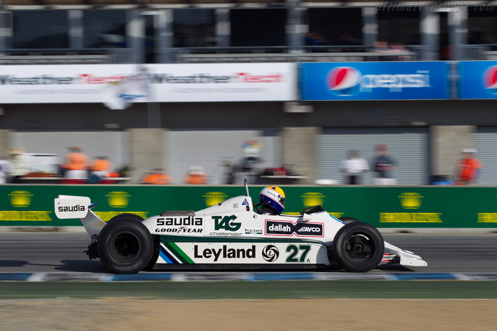 Williams FW07B Cosworth - Chassis: FW07B/06   - 2015 Monterey Motorsports Reunion