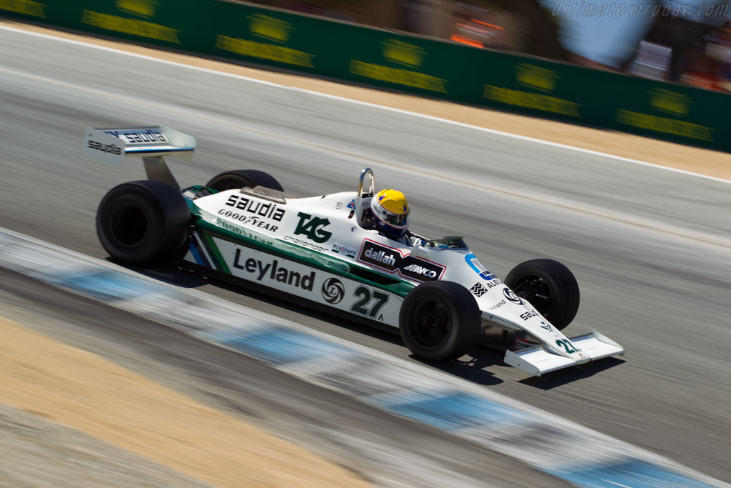 Williams FW07B Cosworth - Chassis: FW07B/06   - 2015 Monterey Motorsports Reunion