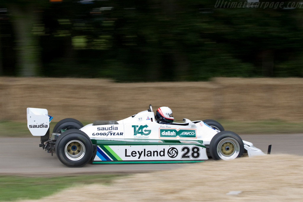 Williams FW07B Cosworth - Chassis: FW07B/07   - 2008 Goodwood Festival of Speed