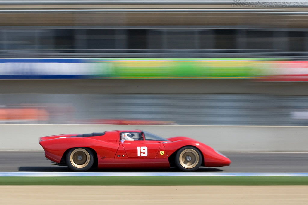 Ferrari 312 P Berlinetta - Chassis: 0872   - 2008 Monterey Historic Automobile Races