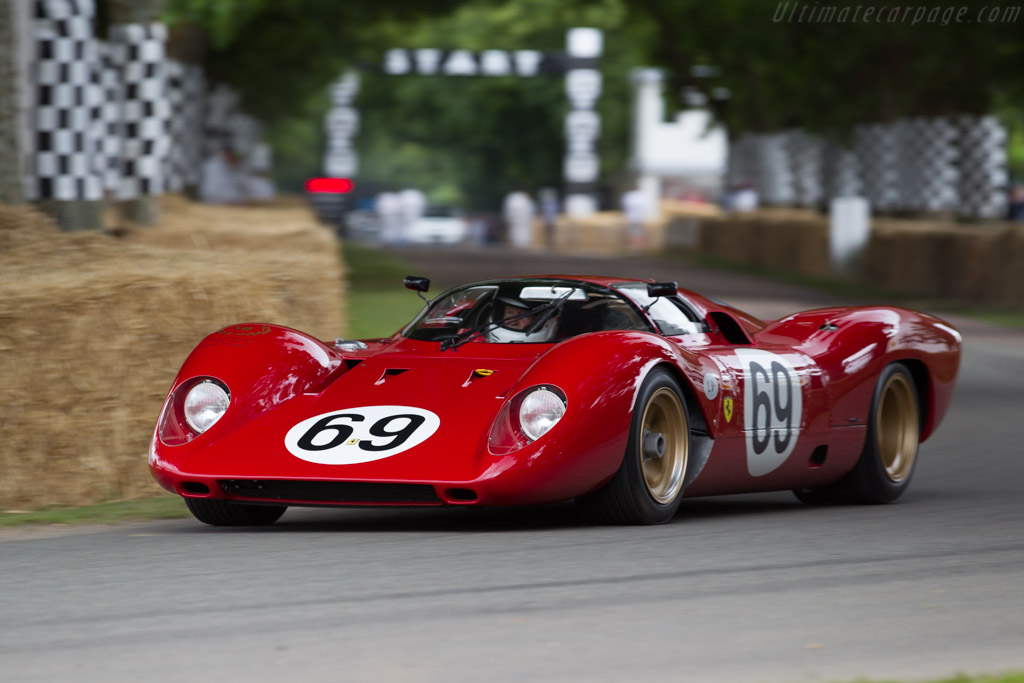 Ferrari 312 P Berlinetta - Chassis: 0872   - 2015 Goodwood Festival of Speed