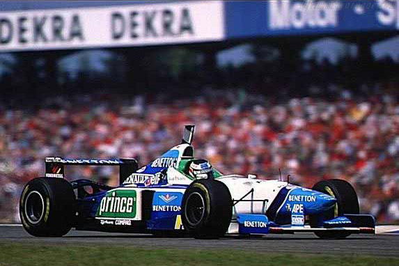 Click here to open the Benetton B196 Renault gallery