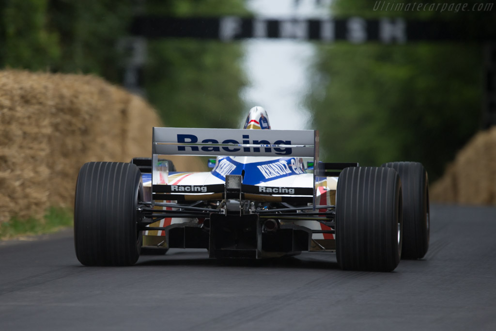 Williams FW18 Renault - Chassis: FW18-04 - Driver: Felipe Nasr  - 2014 Goodwood Festival of Speed