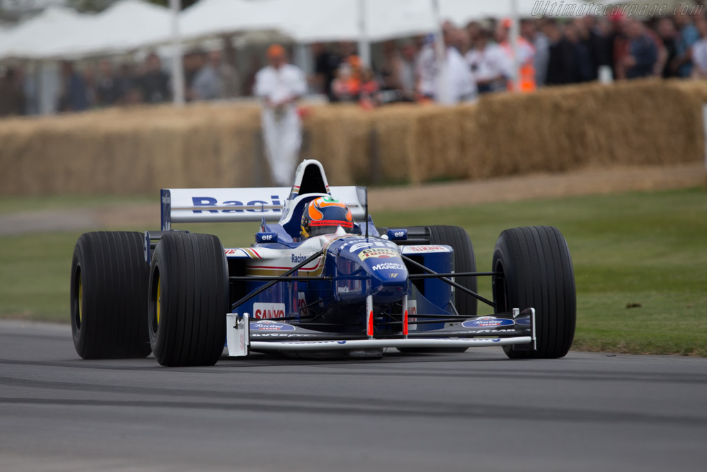 Williams FW18 Renault - Chassis: FW18-04 - Driver: Karun Chandhok  - 2014 Goodwood Festival of Speed