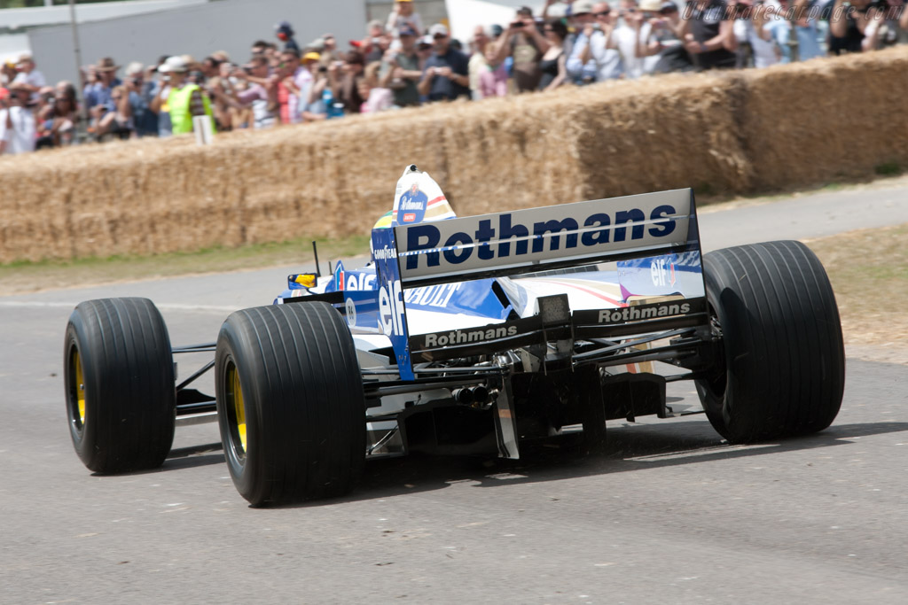 Williams FW18 Renault - Chassis: FW18-01   - 2010 Goodwood Festival of Speed