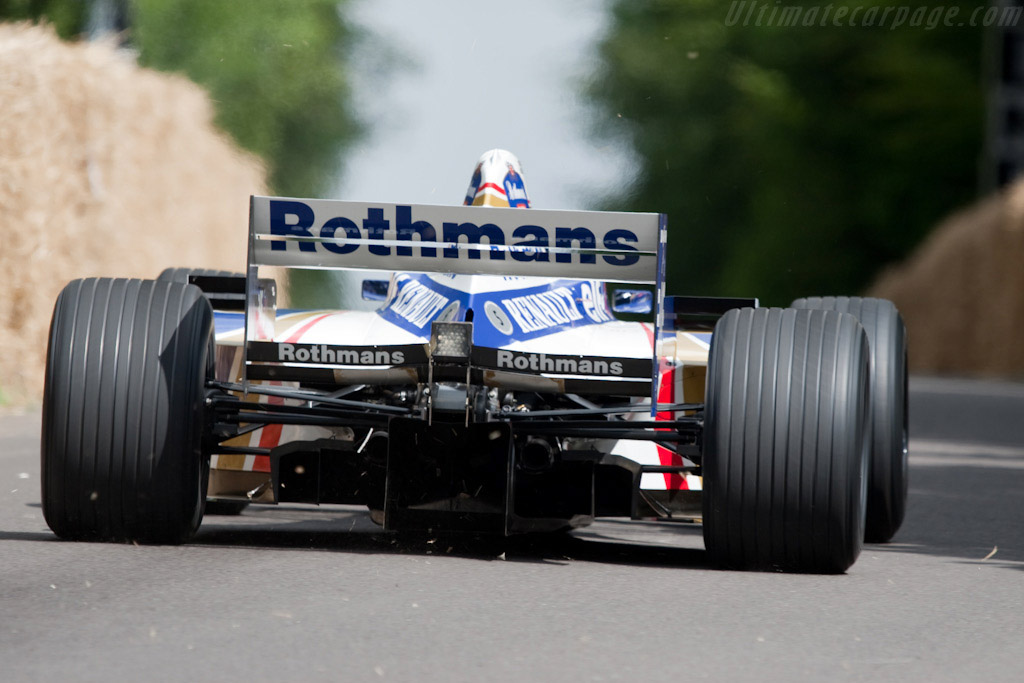 Williams FW18 Renault - Chassis: FW18-04   - 2009 Goodwood Festival of Speed