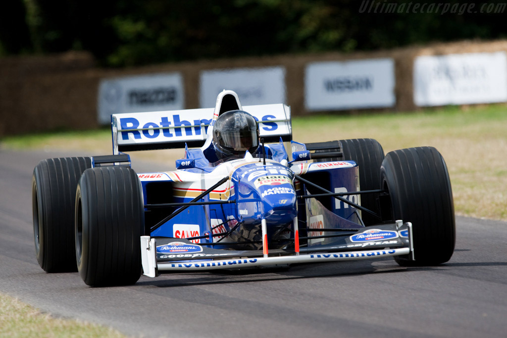 Williams FW18 Renault - Chassis: FW18-01   - 2009 Goodwood Festival of Speed