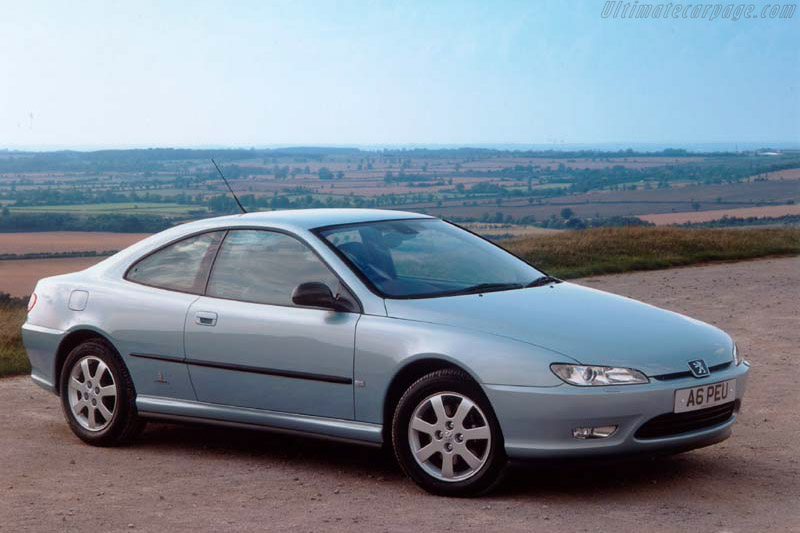 Click here to open the Peugeot 406 Coupe gallery