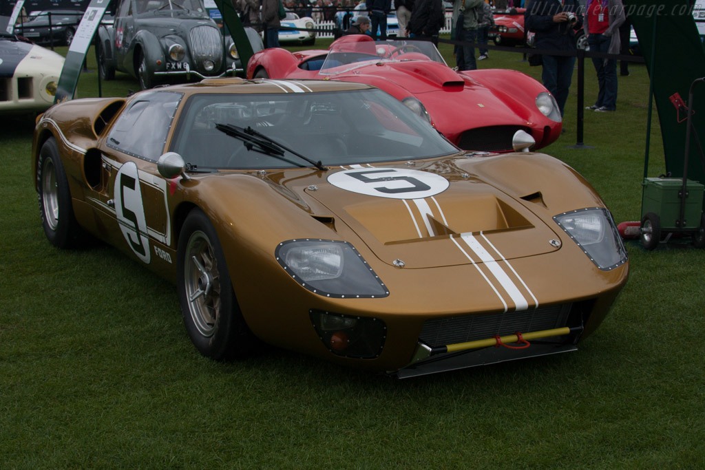 Ford GT40 Mk II - Chassis: GT40P/1047   - 2012 Le Mans Classic