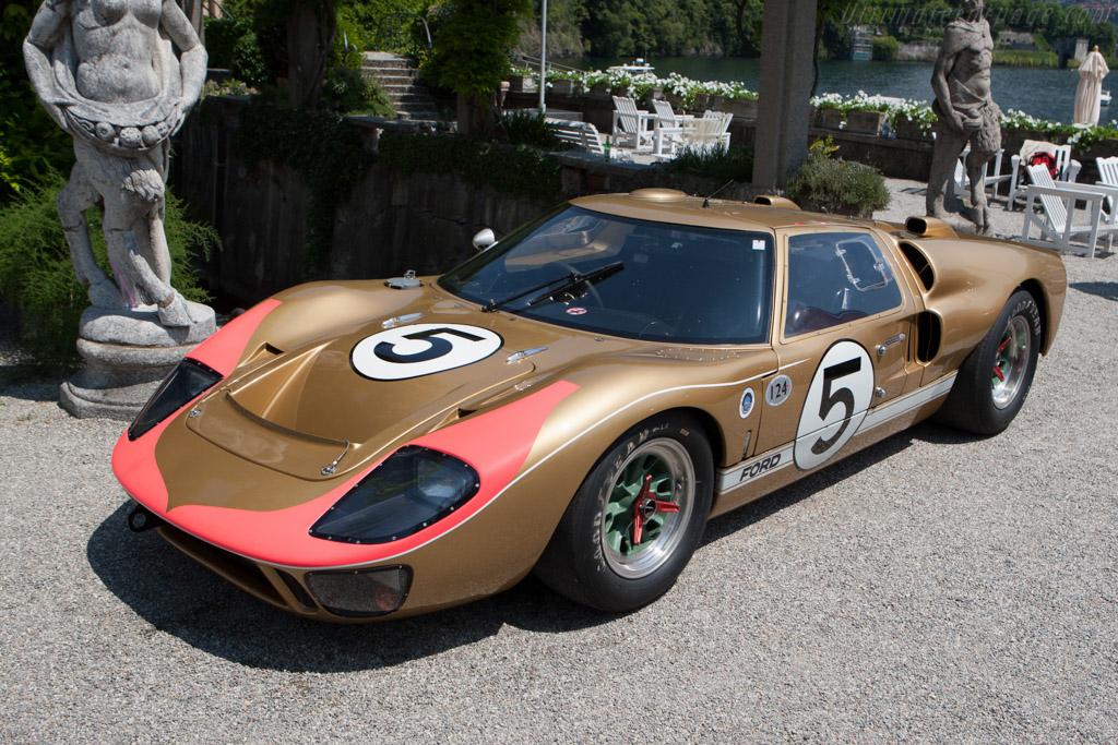 Ford GT40 Mk II - Chassis: GT40P/1016   - 2011 Concorso d'Eleganza Villa d'Este