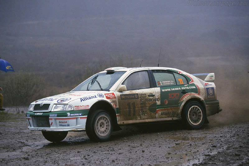 2001 Skoda Octavia Wrc Images Specifications And