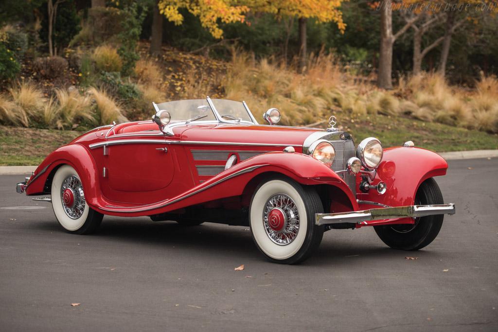 1937 1939 Mercedes Benz 540 K Spezial Roadster Images