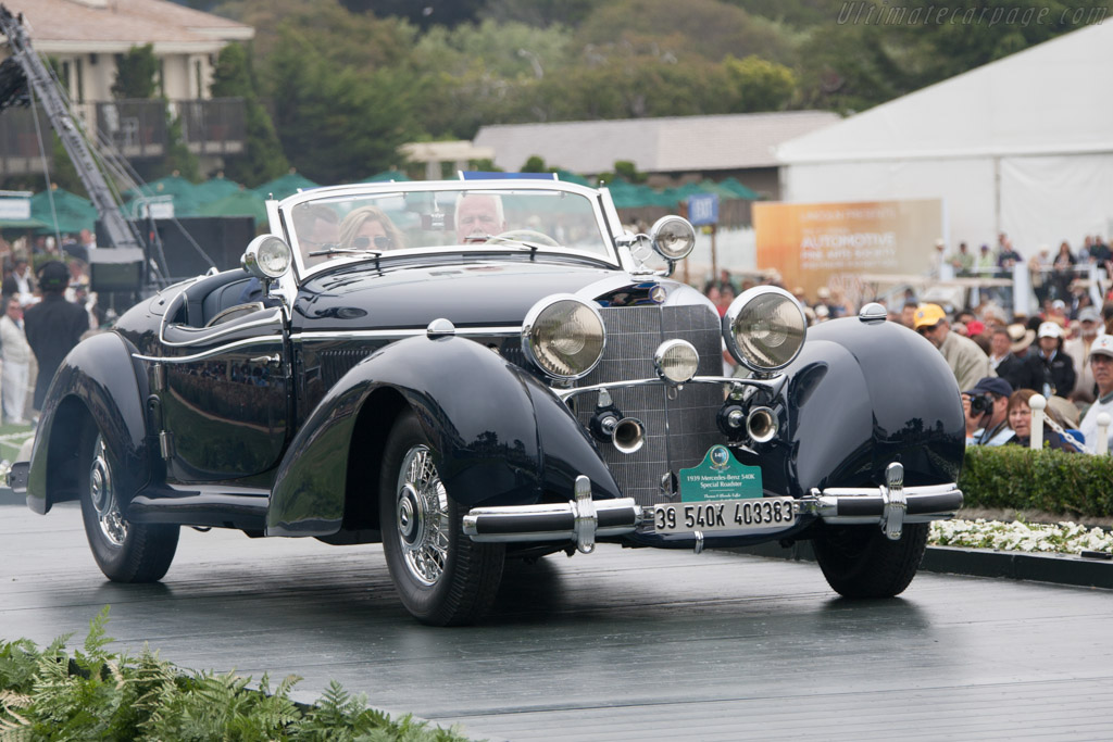 Mercedes-Benz 540 K Spezial Roadster - Chassis: 408383   - 2012 Pebble Beach Concours d'Elegance