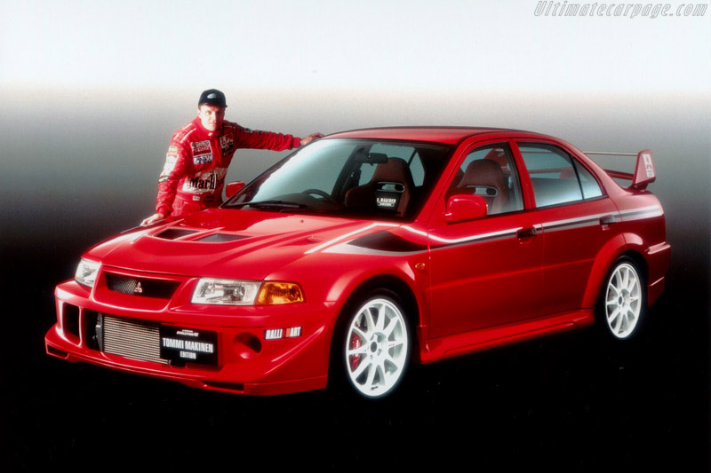 Click here to open the Mitsubishi Lancer EVO VI TME gallery