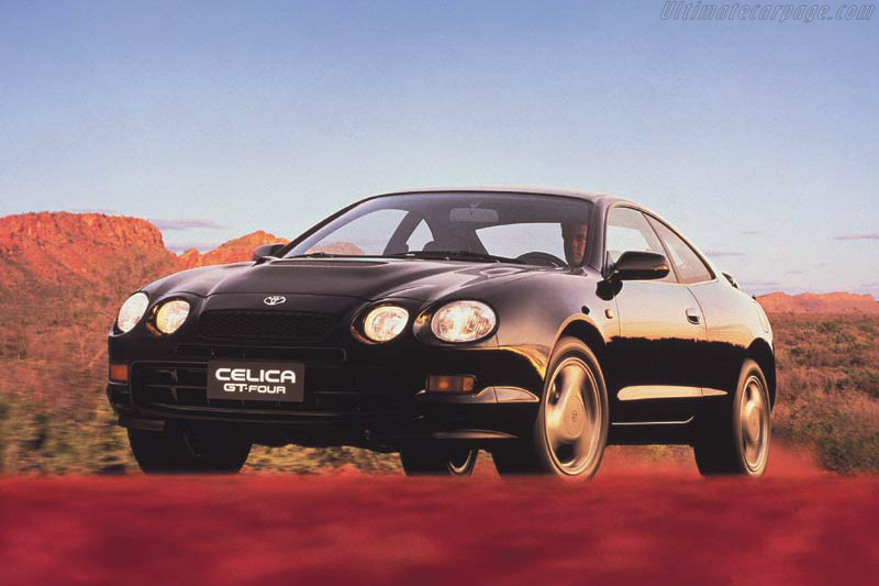 Click here to open the Toyota Celica VI GT-Four gallery