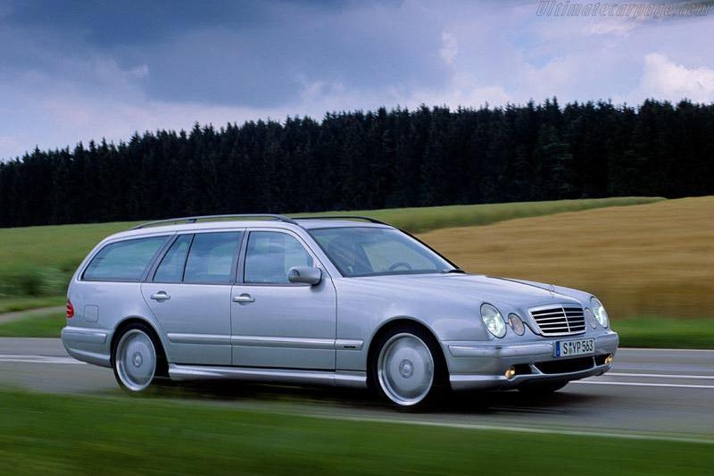 Mercedes-Benz E 55 AMG Estate