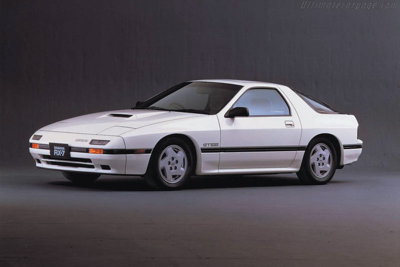 1986 1991 Mazda Rx 7 Gxl Images Specifications And