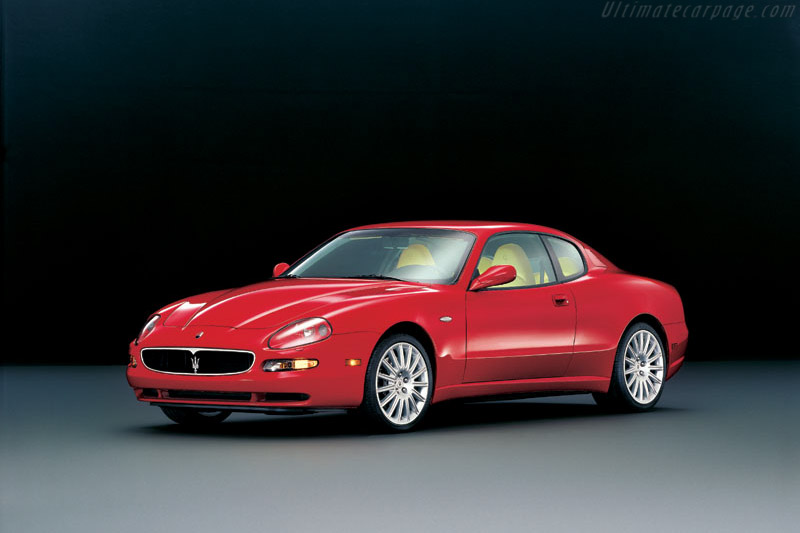 Click here to open the Maserati Coupe gallery