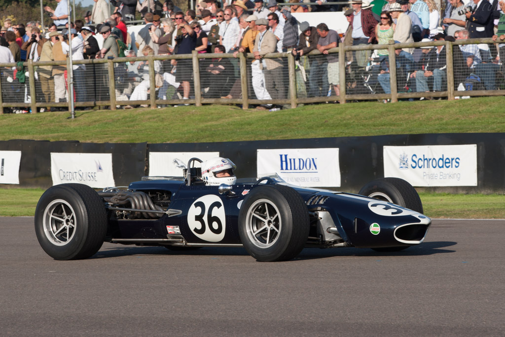 Eagle Mark 1 Weslake - Chassis: 104 - Driver: Brian Redman  - 2012 Goodwood Revival