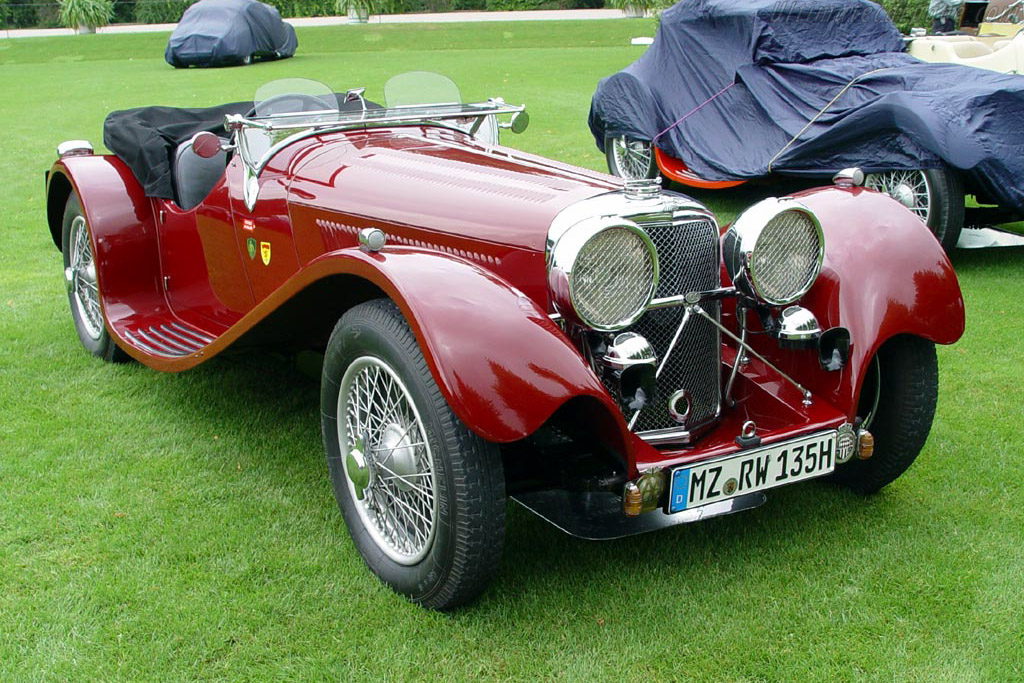 1938 1939 Jaguar Ss 100 3 5 Litre Roadster Images