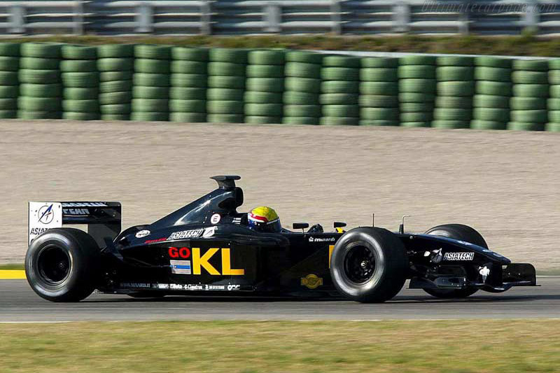 Minardi PS02 Asiatech