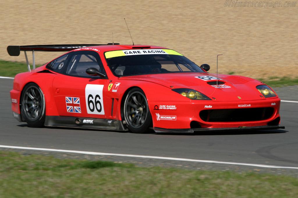Click here to open the Ferrari 550 GTS Maranello gallery