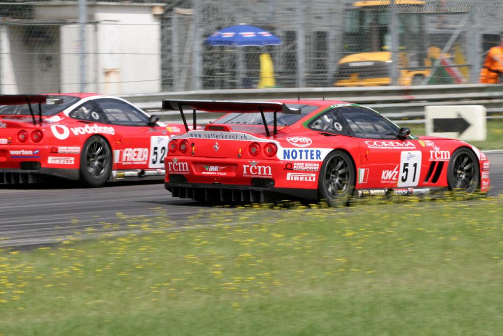 Ferrari 550 GTS Maranello - Chassis: 108391   - 2005 Le Mans Series Monza 1000 km