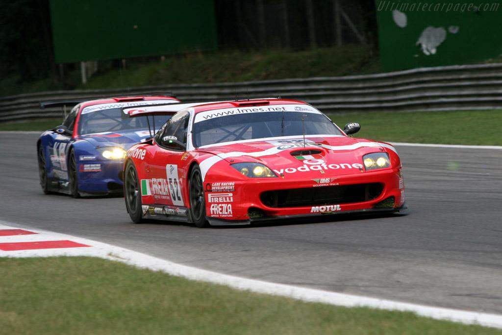 Ferrari 550 gts maranello chassis 114946 2005 le mans series monza 1000 km