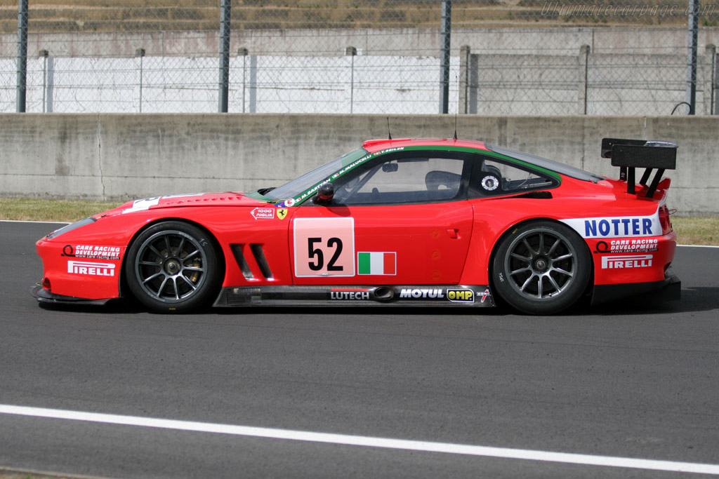 Ferrari 550 GTS Maranello - Chassis: 114946   - 2005 Le Mans Test