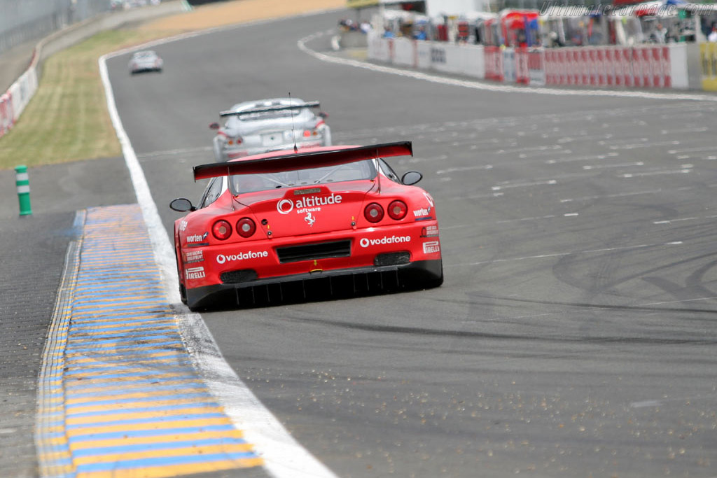 Ferrari 550 GTS Maranello - Chassis: 117110   - 2005 Le Mans Test