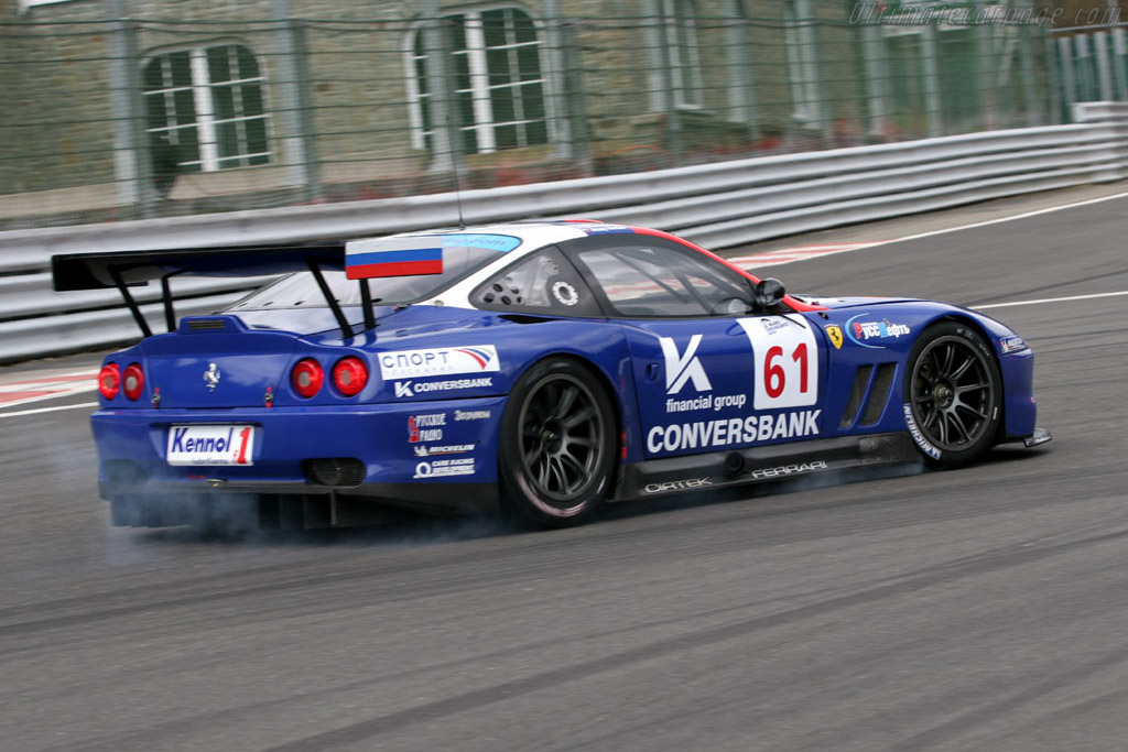 Ferrari 550 GTS Maranello - Chassis: 113136   - 2005 Le Mans Endurance Series Spa 1000 km