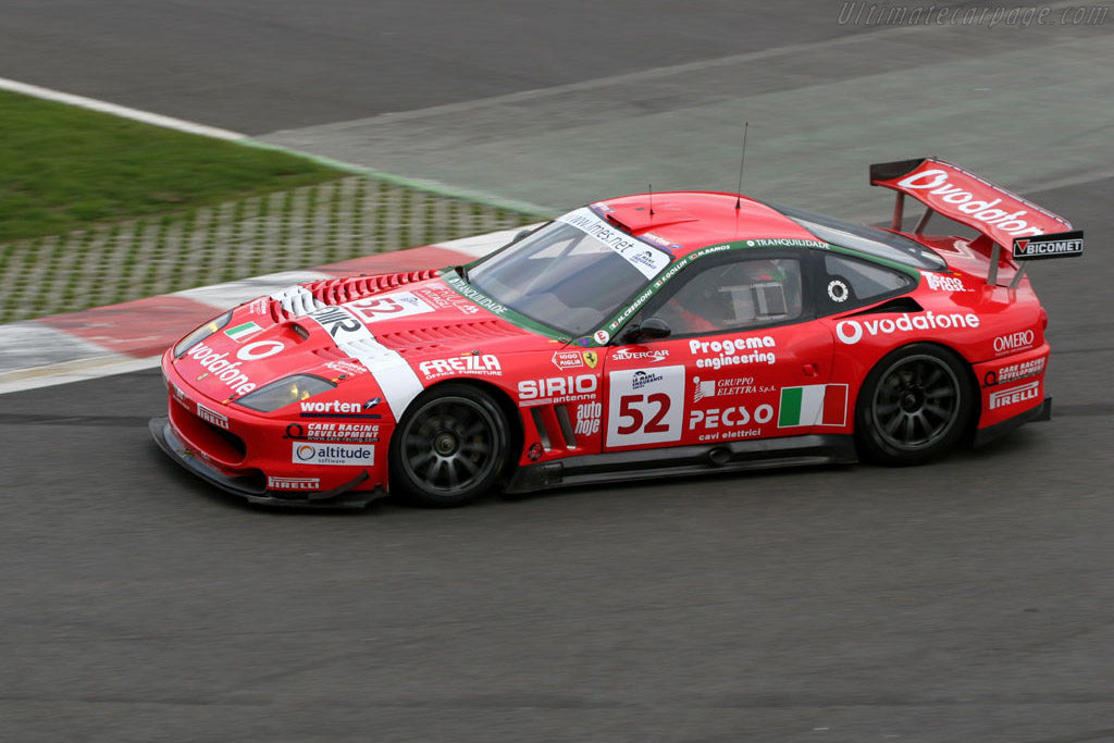 Ferrari 550 GTS Maranello - Chassis: 112886   - 2005 Le Mans Endurance Series Spa 1000 km