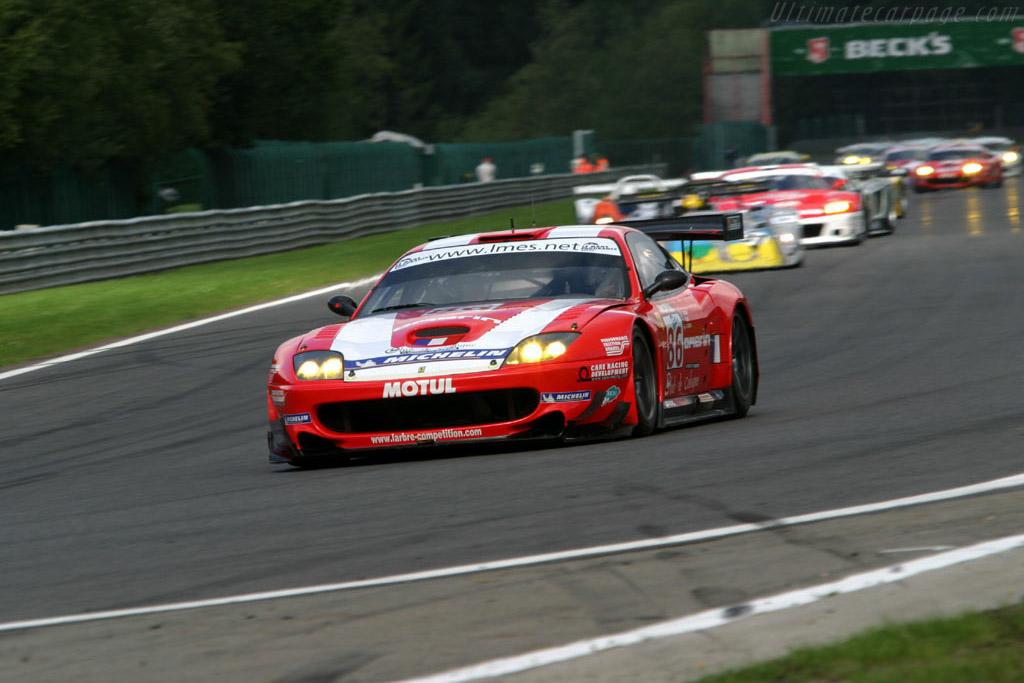 Ferrari 550 GTS Maranello - Chassis: 108612   - 2004 Le Mans Endurance Series Spa 1000 km