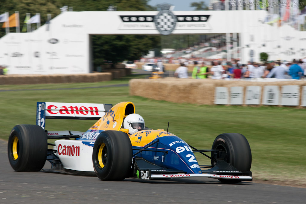 Williams FW15C Renault - Chassis: FW15C-5   - 2011 Goodwood Festival of Speed