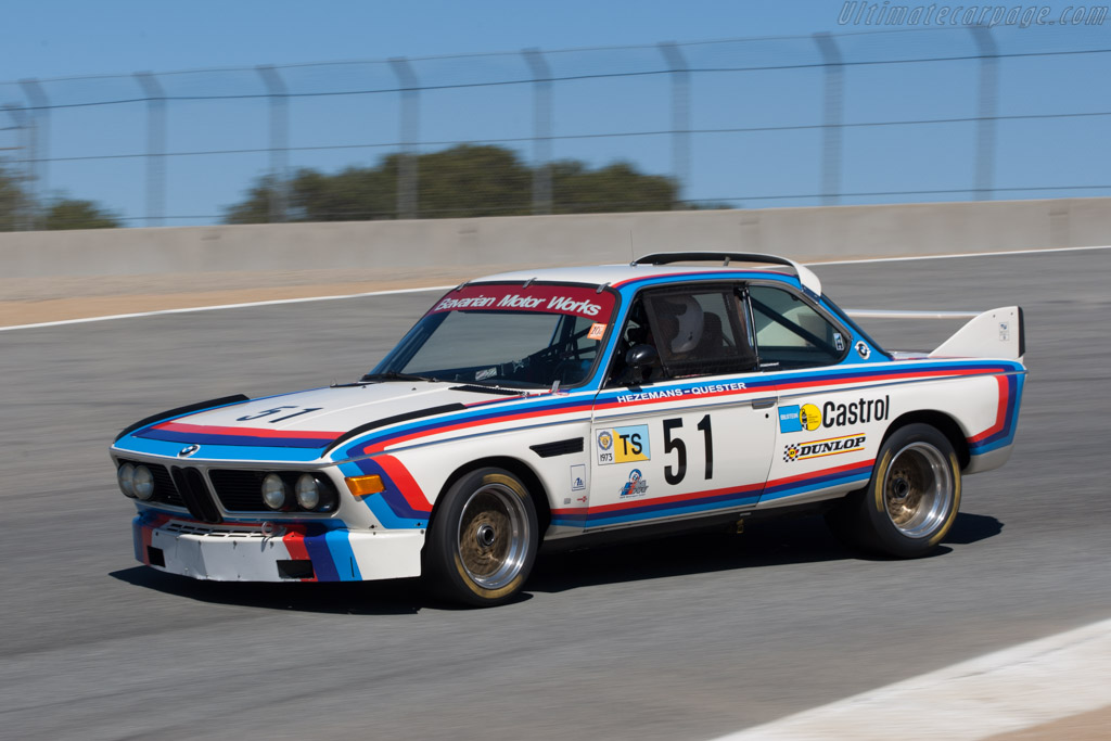 BMW 3.0 CSL Group 2 Works - Chassis: 2275997   - 2011 Monterey Motorsports Reunion