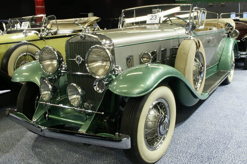 Click here to open the Cadillac V12 Dual Cowl Phaeton gallery