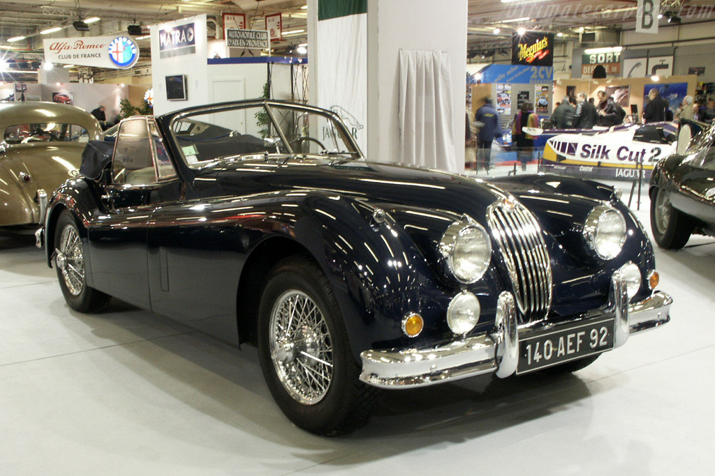 Click here to open the Jaguar XK140 Drop Head Coupe gallery
