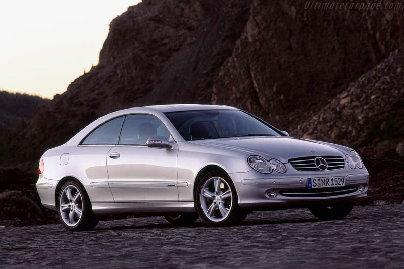 Click here to open the Mercedes-Benz CLK 500 gallery