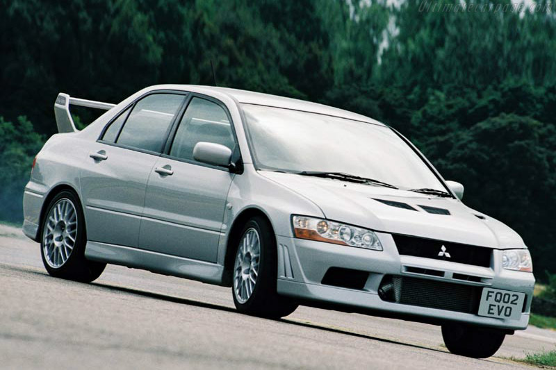 Click here to open the Mitsubishi Lancer EVO VII FQ-300 gallery