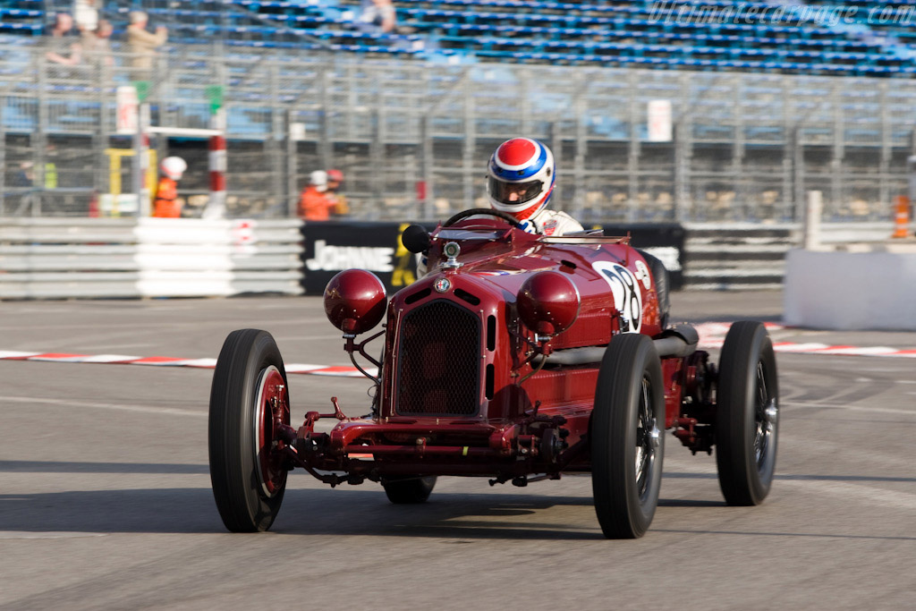 alfa romeo 8c 2300 monza chassis 2111042 2008 monaco historic grand prix. Black Bedroom Furniture Sets. Home Design Ideas