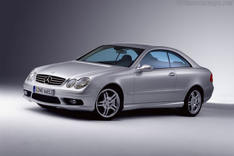 Click here to open the Mercedes-Benz CLK 55 AMG gallery