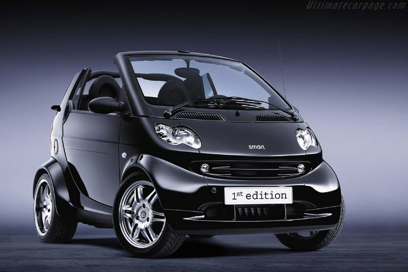 2002 smart brabus cabrio 1st edition images specifications and information. Black Bedroom Furniture Sets. Home Design Ideas