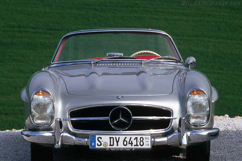 Click here to open the Mercedes-Benz 300 SL Roadster gallery
