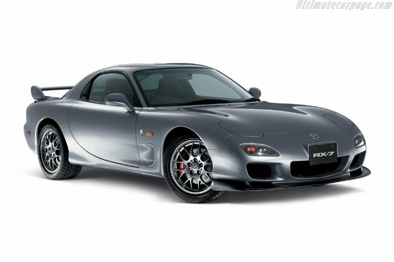 2002 Mazda RX7 Spirit R  Images Specifications and Information