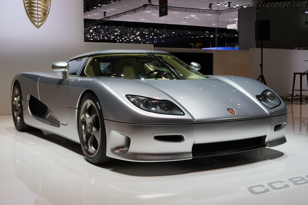Click here to open the Koenigsegg CC 8S gallery