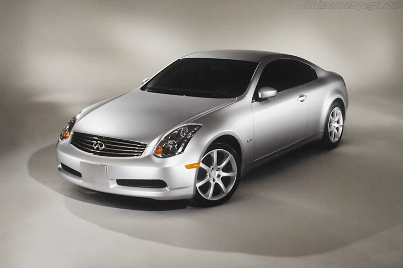 Click here to open the Infiniti G35 Sport Coupe gallery