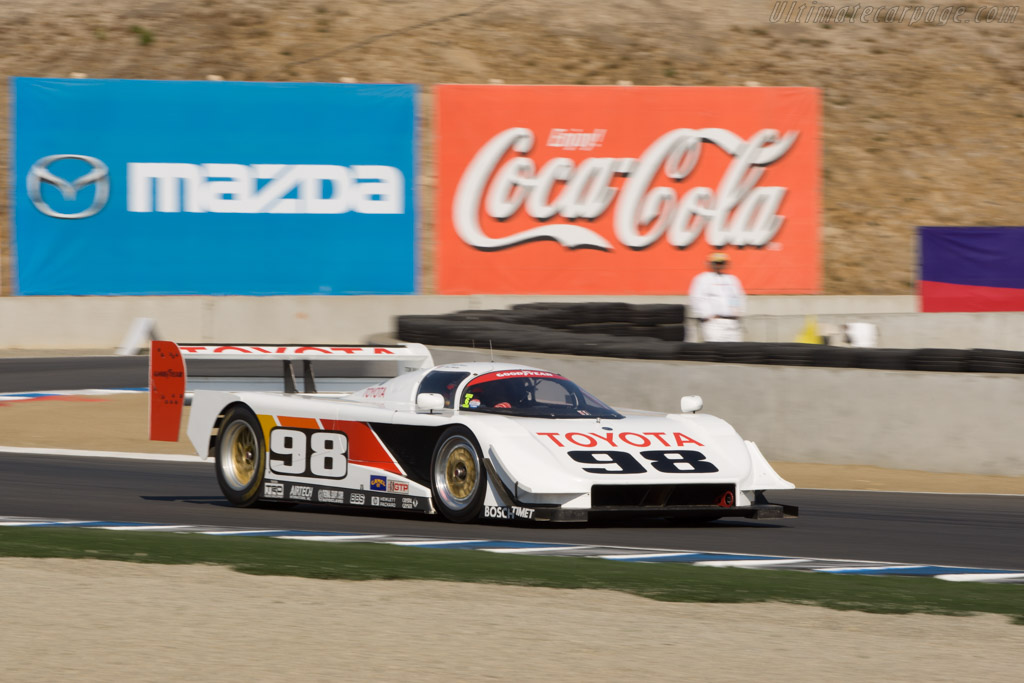 Toyota Eagle GTP Mk III - Chassis: WFO-91-002 - Driver: Timo Glock  - 2008 Monterey Historic Automobile Races